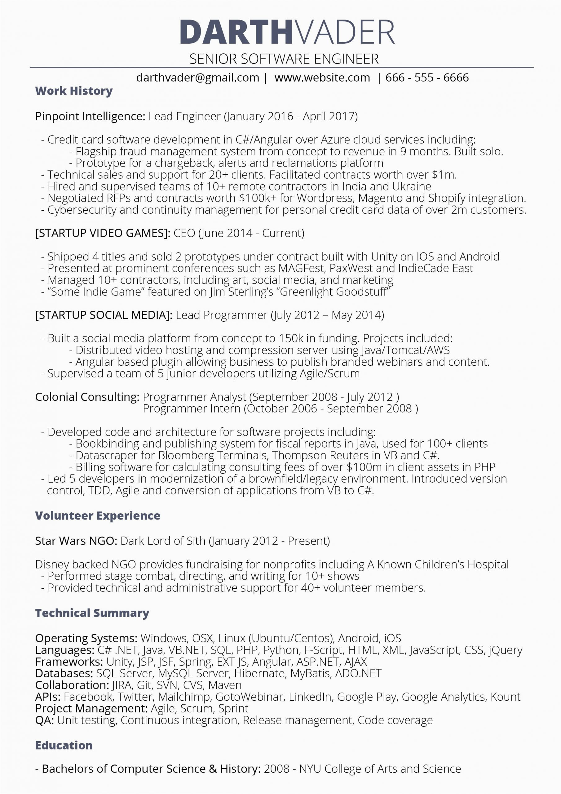 senior software engineer 10 yrs looking for