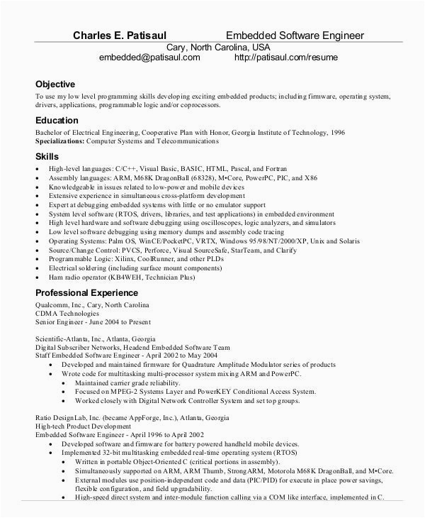 network engineer resume with 2 year