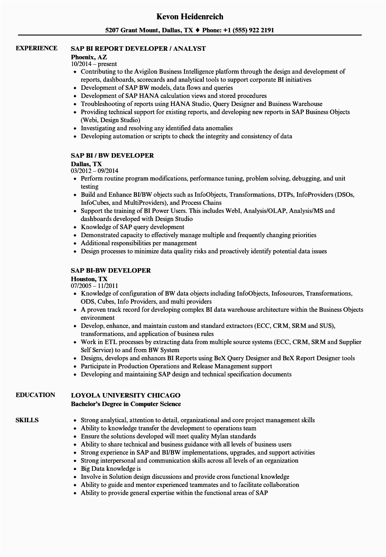Sap Bi Resume Sample for Fresher Great Sap Pm Fresher Resume format Infographic Cv Template