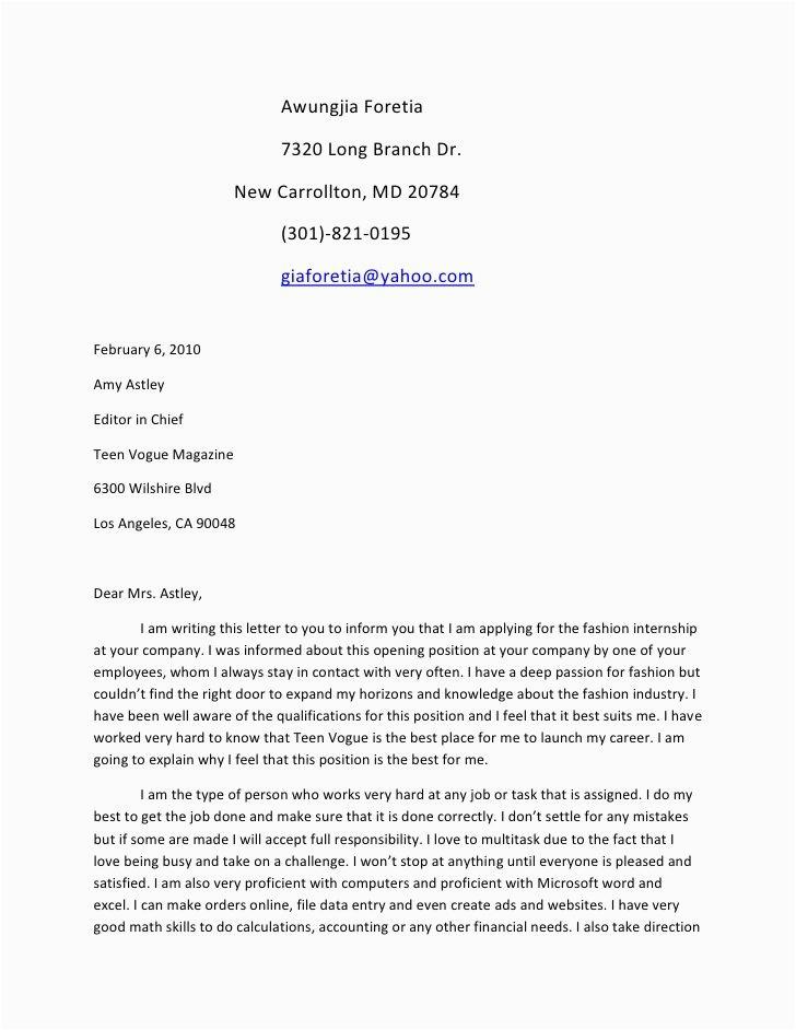 Sample Resume Cover Letter for Teenager Cover Letter Template Teenager