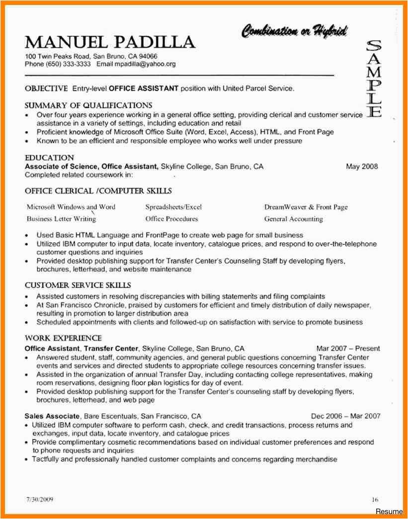 10 11 resumes for returning to work moms